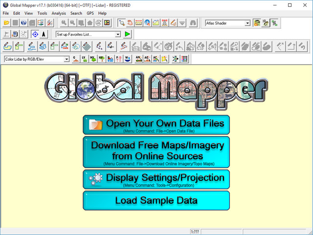 Global Mapper 17.1.1 Build 030416
