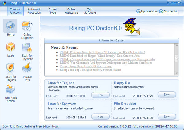 Rising PC Doctor 6.0.5.22
