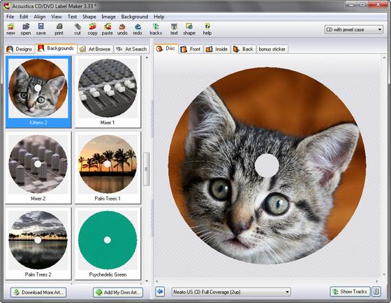 Заготовки для печати на дисках