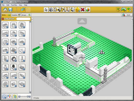 Программа конструктор лего на