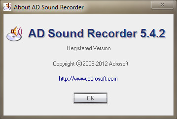 AD Sound Recorder 5.4.2