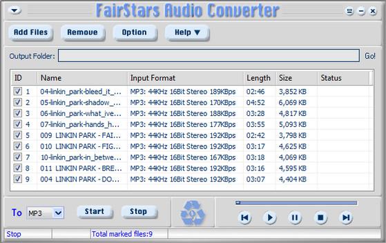 Для конвертации программа аудио