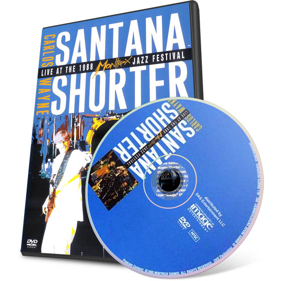 Carlos Santana & Wayne Shorter - Live At The Montreux Jazz Festival (1988) DVD-9