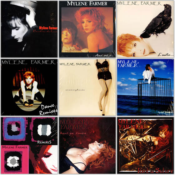 Mylene Farmer. Vinyl-Rip Collection (1986-2008)