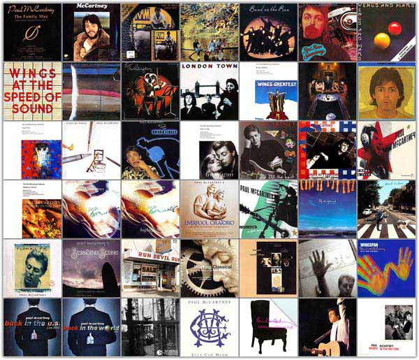 Paul McCartney. Discography (1967-2012) 49CD