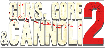 Guns, Gore and Cannoli 2 Logo