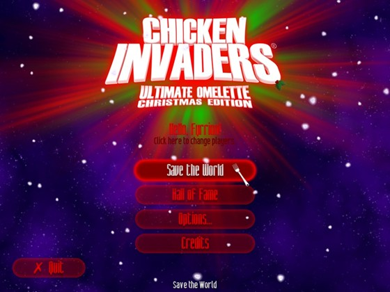 Chicken Invaders 4: The Ultimate Omelette. Christmas Edition