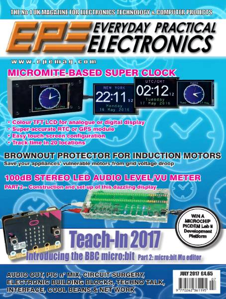 Everyday Practical Electronics №7 (July 2017)