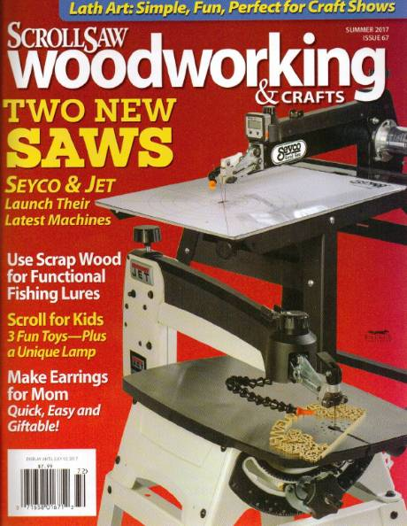 ScrollSaw Woodworking & Crafts №67 (Summer 2017)