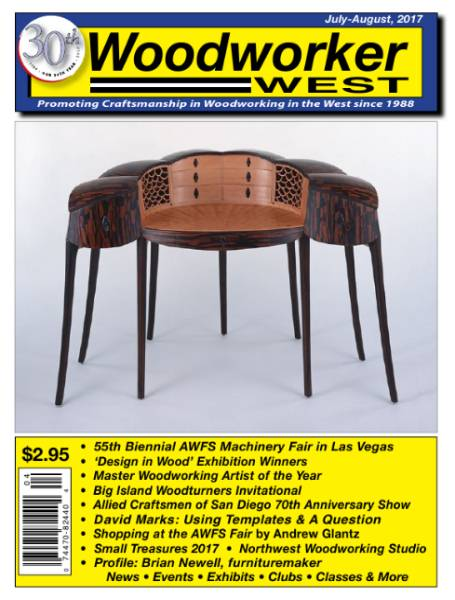 Woodworker West №4 (July-August 2017)