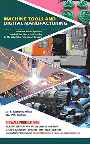 Machine Tools and Digital Manufacturing