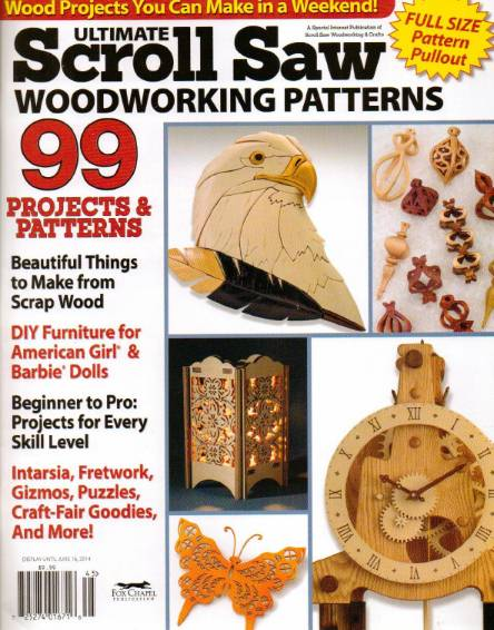 Ultimate ScrollSaw Woodworking Patterns (Spring 2014)