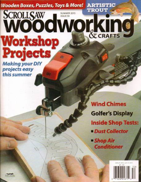 ScrollSaw Woodworking & Crafts №59 (Summer 2015)