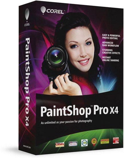 Portable Corel PaintShop Photo Pro X4
